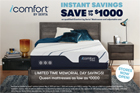 Serta iComfort memory foam mattress